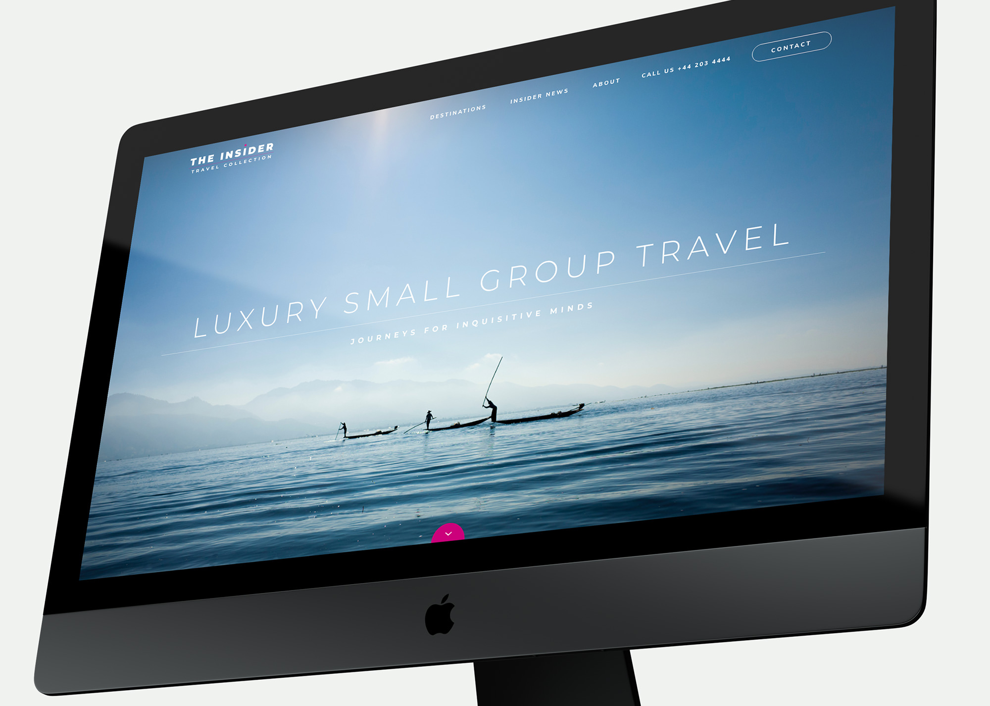 Insider Travel Collection desktop UX