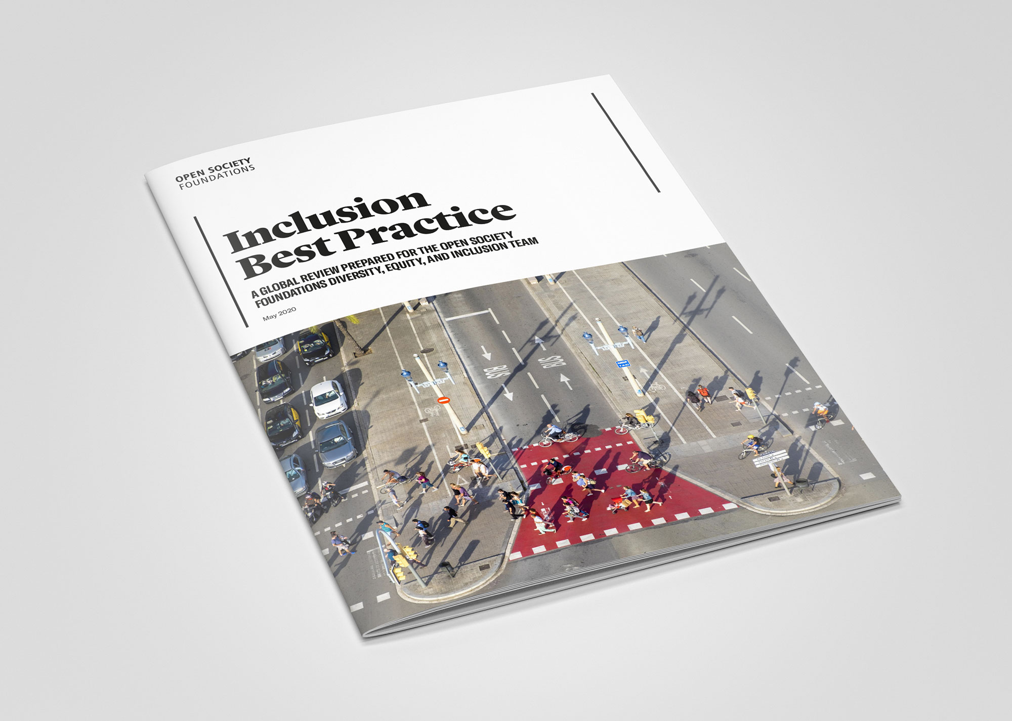 Open Society Foundations Inclusion Best Practice report mock up